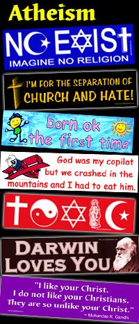 Darwin Loves You MINI STICKER Atheist Evolution Charles Darwin atheism funny